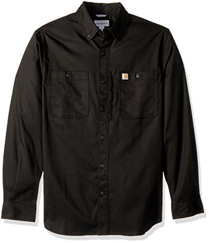 sleeve Shirt Prof Long Rugged Carhartt Longsleeve Men Black 6qFwpaE