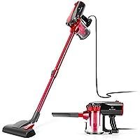 Moosoo 17KPa 2 in 1 Handheld Vacuum with 2-Pack HEPA Filters for Hard Floor