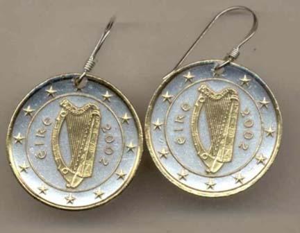 Tone Coin Earrings ()