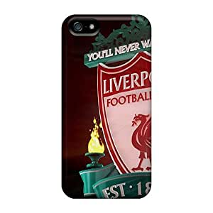 Rewens Premium Protective Hard Case For Iphone 5/5s- Nice Design - Famous Club Of England Liverpool