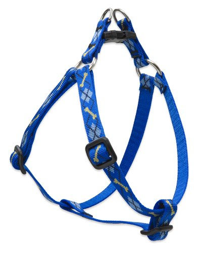 """UPC 746889418955, LupinePet Originals 1/2"""" Dapper Dog 12-18"""" Step In Harness for Small Dogs"""