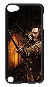 iPod 5 Cases, Hot Sale Personalized The Hobbit 2013 The Desolation Of Smaug Thorin Creativity Protective Hard PC Plastic Black Edge Case Cover for Apple iPod Touch 5 5th Generation