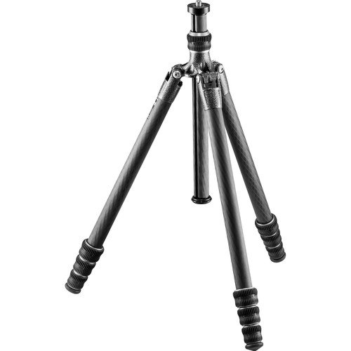 Gitzo lightweight Traveler Series 1 Carbon Fiber Tripod, silver & black (Series 1 Traveler)