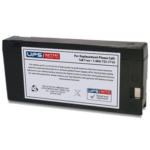 12V 2Ah PC - Compatible Replacement Battery for Panasonic PV-BP50 / (Bp50 Sealed Lead Acid Batteries)