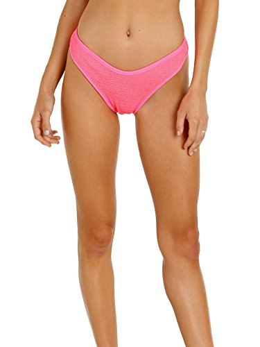 LSpace-Pucker-Up-Neon-Pink-Whiplash-Bikini-Bottom-PKWPB18-NEP