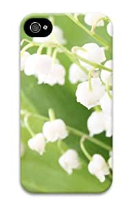 Case For Ipod Touch 5 Cover cute White bell orchid 3D Case For Ipod Touch 5 Cover