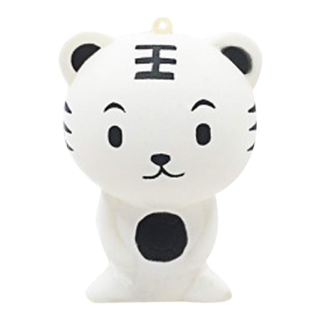 Jinjin Novelty Funny Bear Toy,Scented Charm Slow Rising Stress Relief Toy Gift (B)