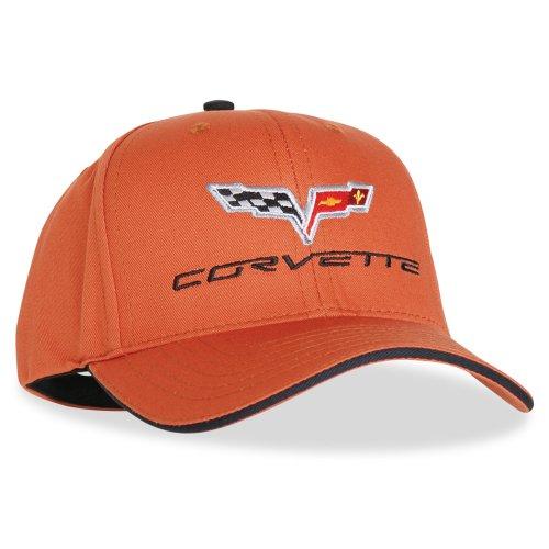 corvette-hat-exterior-color-matched-with-c6-logo-daytona-sunset-orange