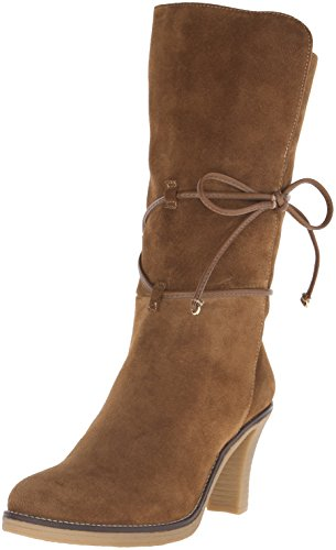 Johnston & Murphy Womens Jeannie Wrap Bootie Boot Kastanje