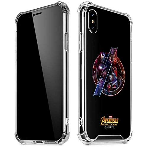 online store 3a0ac 91871 Skinit Avengers Futurist iPhone XR Clear Case - Officially Licensed  Marvel/Disney Phone Case Clear - Transparent iPhone XR Cover