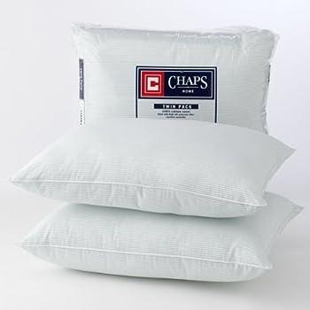 Amazon Com Chaps Home 2 Pk Down Alternative Pillows