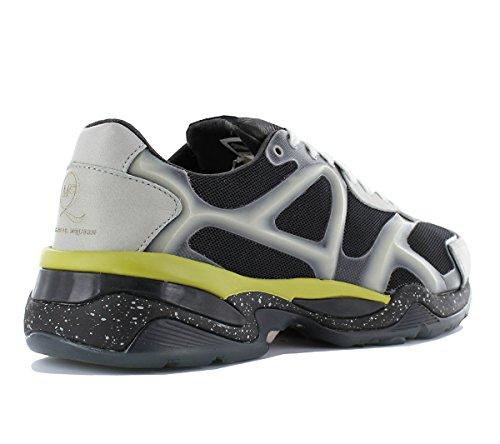 Fashion Alexander Herren Sneaker MCQ Mehrfarbig Leder Puma Run Schuhe McQueen Lo Turnschuhe AMQ 5qUv6