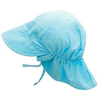 Iplay Flap Hat (0-6 Months, Aqua)
