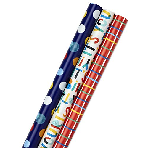 Hallmark Birthday Wrapping Paper