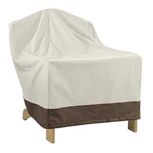 AmazonBasics – Copertura per Divano a 3 posti & s – Copertura Protettiva per sedie da Giardino Adirondack