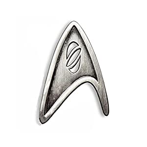Star Trek Cosplay Brooch Starfleet Division Metal Badge Replica