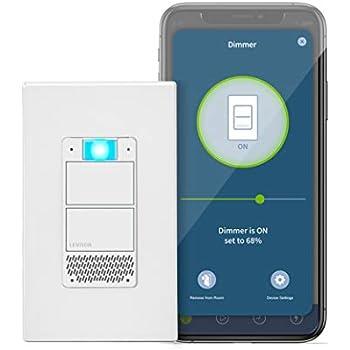 Leviton Dw6hd 1bz Decora Smart Wi Fi 600w Incandescent