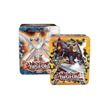Konami Yugioh 2012 Wave 1 Ct09 Collector Tin Set Heroic Champion Excalibur & Evolzar Dolkka Sealed