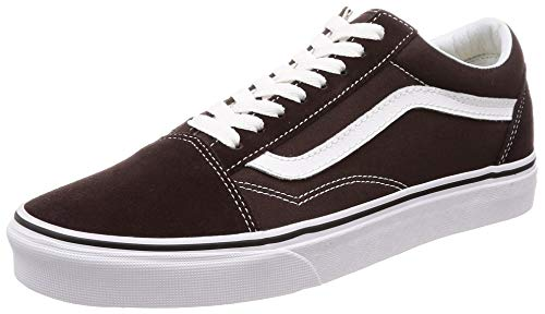 ens Old Skool Chocolate Torte/True White Sneakers (10 D(M) US Men) ()