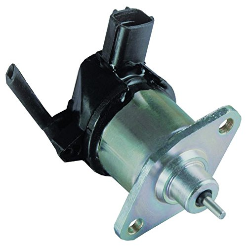 New Fuel Shut Off Stop (Cutoff) Solenoid Fits Kubota V1505 V1305 D1105 D1005 D905 17208-60010, 17208-60016, 17208-60015, 17208-60017 Parts Player