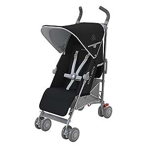 Maclaren Quest - Silla de paseo, nueva colección, color Negro/Plata