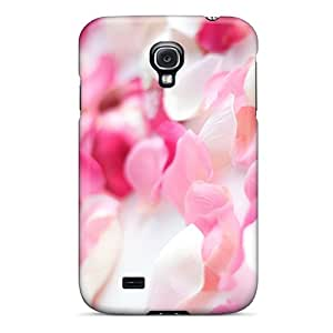 New Hard Cases Premium Galaxy S4 Skin Cases Covers(pink Orchid Flowers)