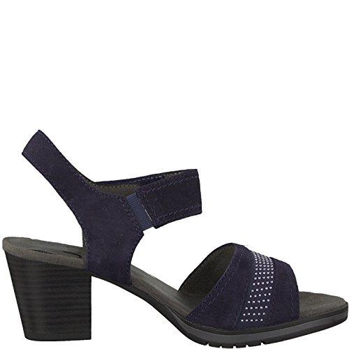 Jana Ladies Sandals 8-28313-20-805 Navy Blue Blau fr0cfS