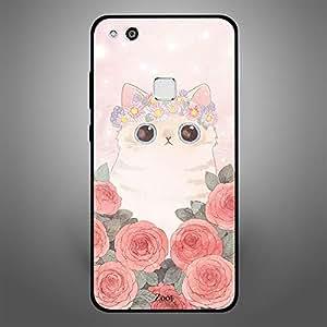 Huawei P10 Lite Cat Roses