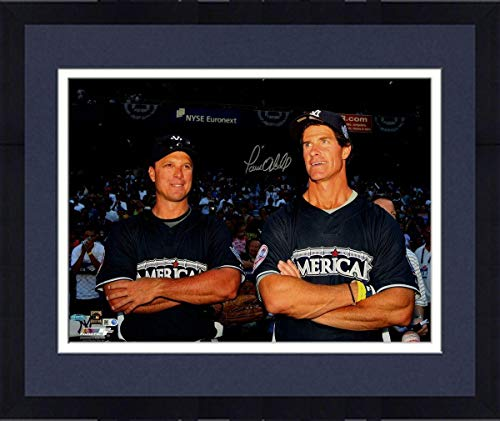 Paul Oneill Hand Signed - Framed Paul O'Neill New York Yankees Signed 2008 MLB All Star Game 16x20 Photograph - Steiner Sports Certified