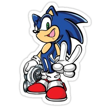 sticker-sonic-with-turbo-by-august
