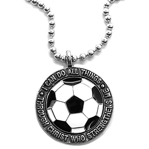 Forgiven Jewelry Soccer Necklace I Can Do Made In The USA