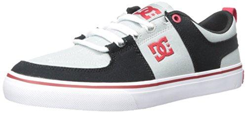 DC Männer Lynx Vulc TX Skate Schuh Grau / Rot