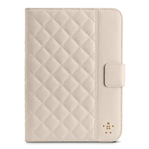 Belkin Quilted Cover with Stand for iPad mini (Cream) from Belkin Components
