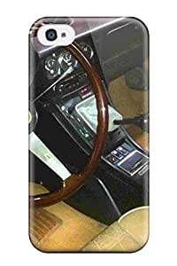 Flexible Tpu Back Case Cover For Iphone 4/4s Alfa Romeo Usa 6