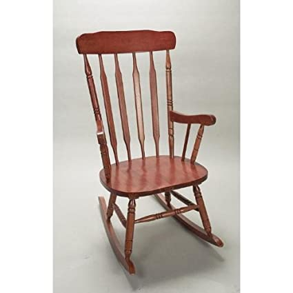 Gift Mark Adult Rocking Chair, Cherry