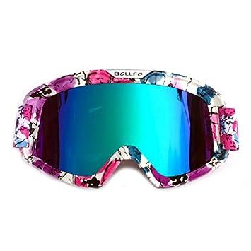 HONCENMAX Motocicleta Gafas de Protección con Máscara Facial ...