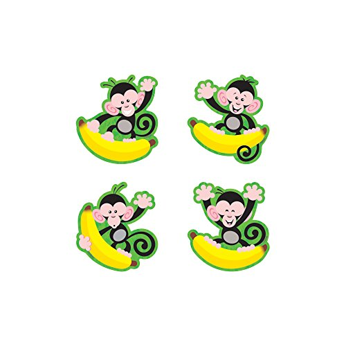 TREND enterprises, Inc. Monkeys and Bananas Mini Accents Variety Pack, 36 ct