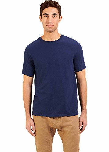 Russell Athletic Men's Essential Short Sleeve Tee, Navy, (Xxl Blue T-shirt)