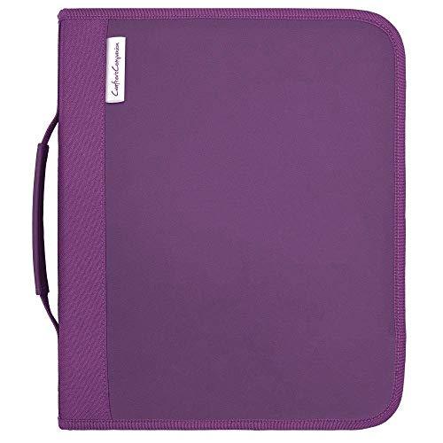 Crafter's Companion - Die & Stamp Paper Craft Storage Organiser Folder - Large