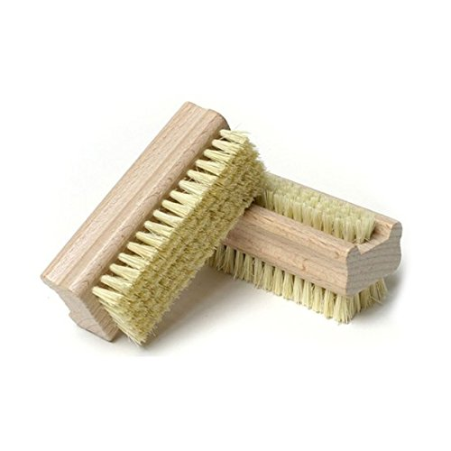 PIXNOR Double Natural Bristle Wooden