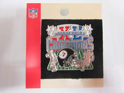 (STEELERS Super Bowl XL Champions COLLECTORS PIN Officially Licensed SOLD OUT ISSUE!!)