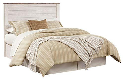 White Queen Panel Bed - 8