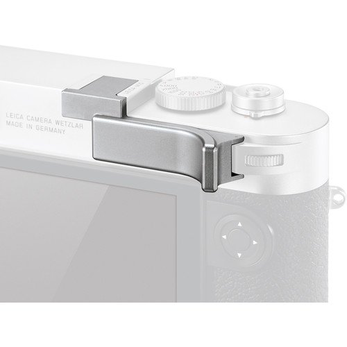 - Leica M10 Thumb Support (Silver)