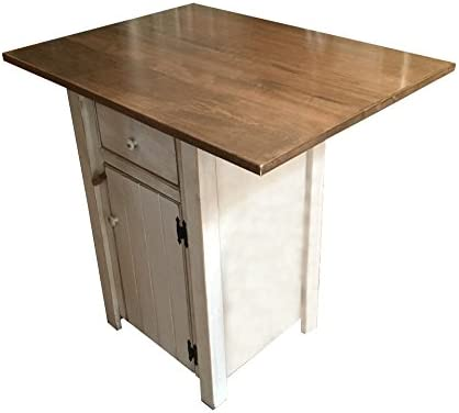 Amazoncom Small Kitchen Island Counter Height Amish