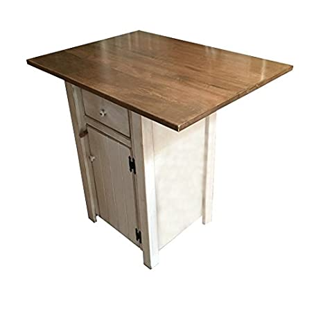 Amazon.com - Small Kitchen Island - Counter Height - Amish ...