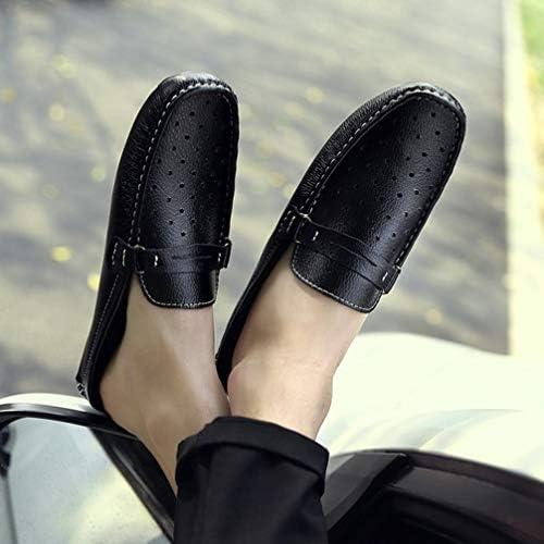 ローカット かかとなし ドライビングシューズ メンズ スリッパ 夏 履き心地抜群 通気 靴 滑リ止め ローファー 大きいサイズ 履きやすい カジュアルシューズ 軽量 ファッション 丸頭 スリッポン フラットシューズ