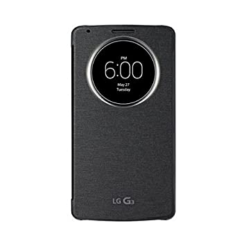 new york 3ef0d 1bf96 LG CCF - 340g G3 Quick Circle Flip Case With Cover: Amazon.co.uk ...