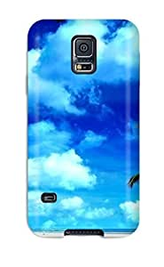 Cute Tpu ThomasSFletcher The Lone Palm Tree Case Cover For Galaxy S5