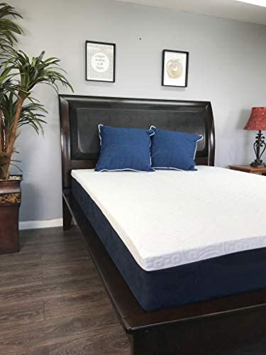 The Original Foam Factory – 10in American Made Mattress- 100 Made in USA – 20 Year Warranty – CertiPur Foam – Chiropractic Endorsed Twin