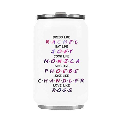 Chandler Dress - Dress Like Rachel,Eat Like Joey,Cook Like Monica,Love Like Ross Travel Coffee Mug Stainless Steel Vacuum Cup 10.3 Ounce